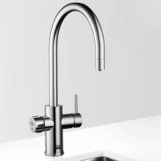 Zip MT2787UK HydroTap Home G4 Polished Chrome Residential Celsius Arc Style Chilled & Sparkling Filtered Water Tap 0.3kW W:280mm