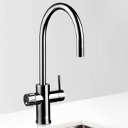 Zip MT2787Z2UK HydroTap Home G4 Gloss Black Residential Celsius Arc Style Chilled & Sparkling Filtered Water Tap 0.3kW W:280mm x