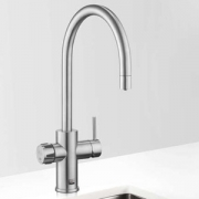 Zip MT2788Z1UK HydroTap Home G4 Brushed Chrome Residential Celsius Arc Style Chilled Filtered Water Tap 0.13kW W:280mm x D:389mm