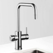 Zip MT3786UK HydroTap Home G4 Polished Chrome Residential Celsius Cube Style Boiling Filtered Water Tap 1.43kW W:280mm x D:313mm