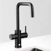 Zip MT3786Z3UK HydroTap Home G4 Matt Black Residential Celsius Cube Style Boiling Filtered Water Tap 1.43kW W:280mm x D:313mm x
