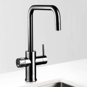 Zip MT3787Z2UK HydroTap Home G4 Gloss Black Residential Celsius Cube Style Chilled & Sparkling Filtered Water Tap 0.3kW W:280mm