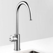Zip HT2784UK HydroTap Home G4 Polished Chrome Residential Arc Style Boiling & Chilled Filtered Water Tap 1.55kW W:280mm x D:455m