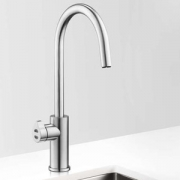 Zip HT2784Z1UK HydroTap Home G4 Brushed Chrome Residential Arc Style Boiling & Chilled Filtered Water Tap 1.55kW W:280mm x D:455