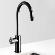 Zip HT2784Z2UK HydroTap Home G4 Gloss Black Residential Arc Style Boiling & Chilled Filtered Water Tap 1.55kW W:280mm x D:455mm