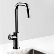 Zip HT3783Z2UK HydroTap Home G4 Gloss Black Residential Cube Style Boiling, Chilled & Sparkling Filtered Water Tap 1.7kW W:338mm