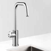 Zip HT3784UK HydroTap Home G4 Polished Chrome Residential Cube Style Boiling & Chilled Filtered Water Tap 1.55kW W:280mm x D:455