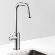 Zip HT3785Z1UK HydroTap Home G4 Brushed Chrome Residential Cube Style Boiling & Ambient Filtered Water Tap 1.43kW W:280mm x D:31