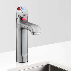 Zip HT1784Z1UK HydroTap Home G4 Brushed Chrome Residential Classic Style Boiling & Chilled Filtered Water Tap 1.55kW W:280mm x D
