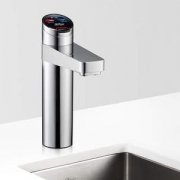 Zip HT4783Z1UK HydroTap G4 Elite Brushed Chrome Residential Boiling, Chilled, Sparkling Filtered Water Tap 1.7kW W:338mm x D:455