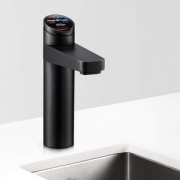 Zip HT4784Z3UK HydroTap G4 Elite Matt Black Residential Boiling, Chilled Filtered Water Tap 1.55kW W:338mm x D:455mm x H:333mm