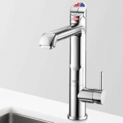 Zip HT1790UK HydroTap Home G4 All-In-One Polished Chrome Residential Boiling, Chilled, Sparkling, Hot & Cold Water Tap - Require