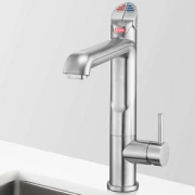 Zip HT1790Z1UK HydroTap Home G4 All-In-One Brushed Chrome Residential Boiling, Chilled, Sparkling, Hot & Cold Water Tap - Requir