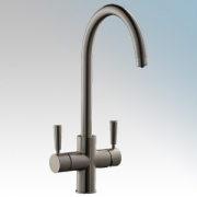 Redring 22566803 RTTB RediTap Brushed Nickel 3-in-1 Boiling Water Mixer Tap With Undersink Tank - Delivers Boiling Water & Hot +