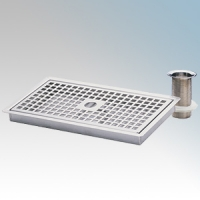 Heatrae Sadia 95.970.123 Stainless Steel Drip Tray With Waste
