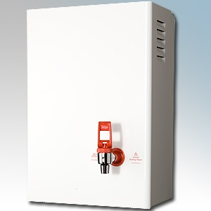Zip HS505 Econoboil White Instantaneous Water Heater With Classic Catering Style Tap 5.0Ltrs 2.4kW H:465mm x W:318mm x D:198mm