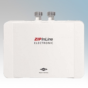 Zip ES4 InLine ES White Compact Electronic Instantaneous Water Heater For Handwash Applications 0.2Ltrs 4.4kW
