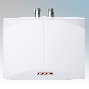 stiebel eltron 231215 dem6 white compact electronic instantaneous water heater for single. Black Bedroom Furniture Sets. Home Design Ideas