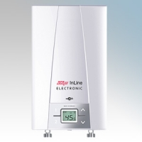 Zip CEX-O InLine CEX White Multipoint Electronic Instantaneous Oversink Water Heater 6.6kW-8.8kW H:330mm x W:210mm x D:110mm