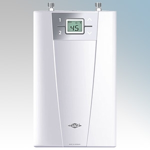 zip cexu inline cex white multipoint electronic undersink water heater 66kw