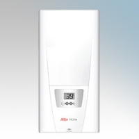 Zip DEX Inline DEX White Three Phase Multipoint Electronic Instantaneous Water Heater 18kW - 27kW H:466mm x W:231mm x D:97mm