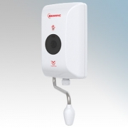 Redring Autosensor AV3S White Touch Free Hand Wash Water Heater With Vortex Spray Swivel Nozzle 3.0kW 240V