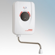 Santon 94.020.017 EV2008 3 White Instantaneous Automatic 'No-Touch' Handwash Water Heater 3kW 240V