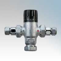 Zip AQ4 Thermostatic Blending Valve With 2 Check Valves For Use With Aquapoint III & Varipoint II Units