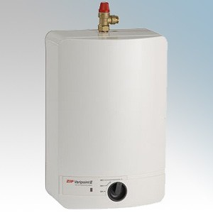 Zip VP103 Varipoint II White Unvented Multipoint Oversink Water Heater With Pressure & Temperature Release Valve 10 Ltrs 2.2kW