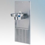 Zip CH105 Chill Fountain Stainless Steel Wall Mounted Water Chiller With Single Water Bowl, Bump Action Electronic Controls & Bu
