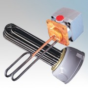 Santon MY724 MY Superloy Industrial Immersion Heater With Thermostat 7.5kW Length: 24 Inch