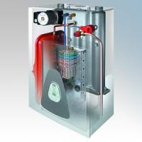 Redring 45551860 PSA12 Powerstream Ascari White Steel Central Heating & Hot Water Flow Boiler 4kW - 12kW 230V