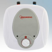 Redring 47789701 MS6 White Compact Unvented Undersink Storage Water Heater 6 Litres 1.5kW 240V