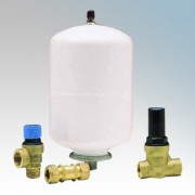 Santon 94.970.008 ALK01 Expansion Vessel, Expansion Relief Valve, Pressure Reducer/Strainer & Non-Return Valve