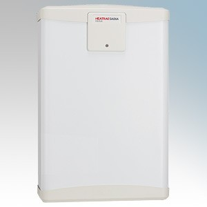 Heatrae Sadia 94.040.011 R40 Plus White Cistern-Type Open Vented Water Heater With Water Temperature & Intelligent Fault Reporti