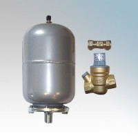 Hyco Manufacturing SF4KIT Speedflow Expansion Vessel, Check Valve & Pressure Reducing Valve 2Ltrs 3.5bar