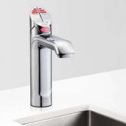 Zip HT1707UK HydroTap G4 Classic Polished Chrome Commercial Boiling Water Tap - Up To 240 Cups Per Hour 1.9kW + 2.2kW W:280mm x