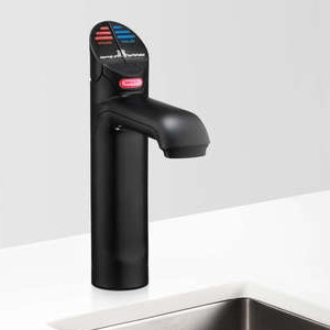 Zip HT1708Z3UK HydroTap G4 Classic Matt Black Commercial Boiling & Free Flow Chilled Water Tap - Up To 160 Cups Per Hour 1.9kW W