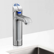 Zip HT1711Z1UK HydroTap G4 Classic Satin Chrome Commercial Chilled Water Tap - Up To 175 Cups Per Hour 0.25kW W:336mm x D:476mm