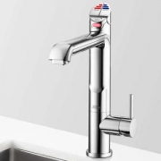Zip HT1713UK HydroTap G4 All-In-One Polished Chrome Commercial Boiling, Chilled, Hot & Cold Water Tap - Requires Hot & Cold Feed
