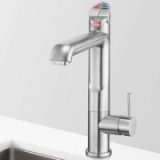 Zip HT1714Z1UK HydroTap G4 All-In-One Satin Chrome Commercial Boiling, Chilled, Hot & Cold Water Tap - Requires Hot & Cold Feed